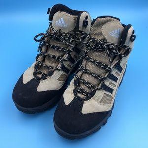 1dca4e0d98e7 adidas Shoes - Adidas Womens Tan Black Suede 351715 Boots 6.5